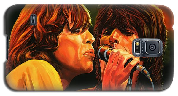 Musicians Galaxy S5 Case - The Rolling Stones by Paul Meijering