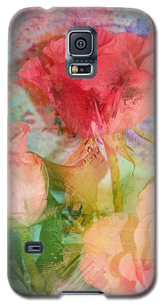 The Romance Of Roses Galaxy S5 Case by Carla Parris