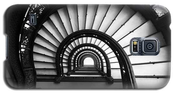 The Rookery Staircase In Black And White Galaxy S5 Case