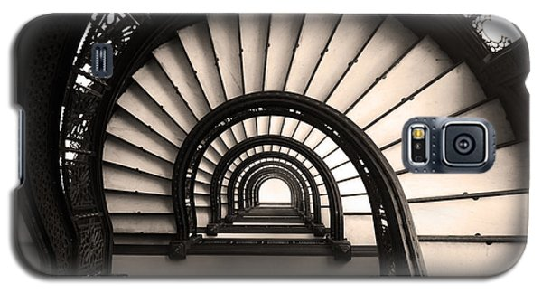 The Rookery Staircase In Sepia Tone Galaxy S5 Case