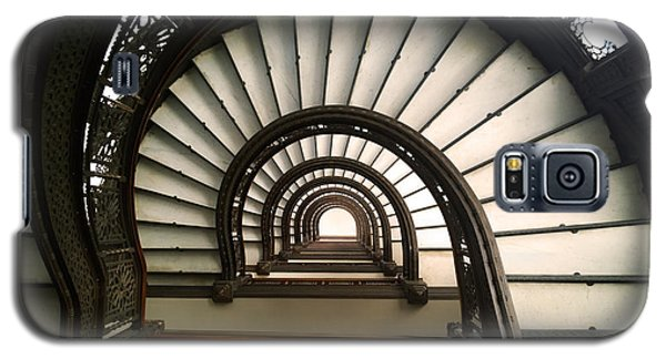 The Rookery Staircase Lasalle St Chicago Illinois Galaxy S5 Case