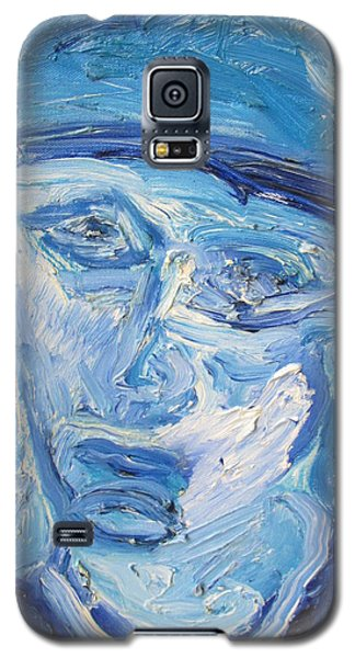 The Sad Man Galaxy S5 Case by Shea Holliman