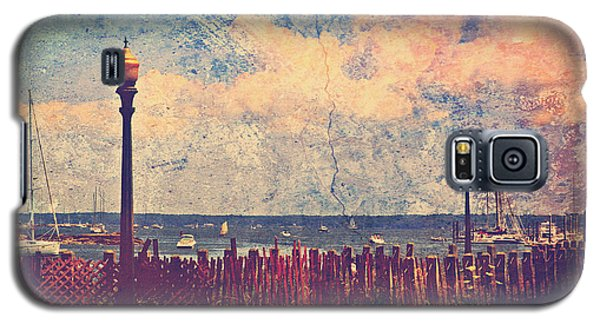 The Salty Air Sea Breeze In Her Hair Iv Galaxy S5 Case by Aurelio Zucco