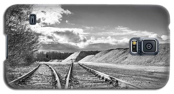 The Sand Quarry Tracks. Galaxy S5 Case