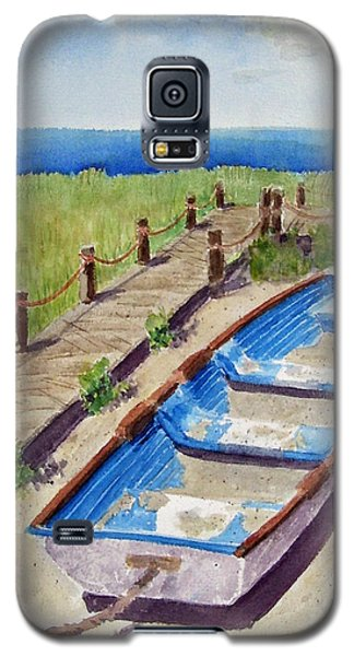 The Sandy Boat Galaxy S5 Case