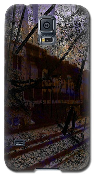 Galaxy S5 Case featuring the digital art The Santa Fe by Cathy Anderson