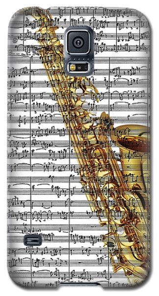 The Saxophone Galaxy S5 Case by Ron Davidson