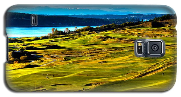 The Scenic Chambers Bay Golf Course - Location Of The 2015 U.s. Open Tournament Galaxy S5 Case