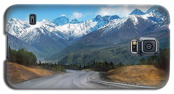 The Scenic Glenn Highway  Galaxy S5 Case