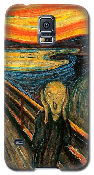 The Scream Edvard Munch 1893                    Galaxy S5 Case