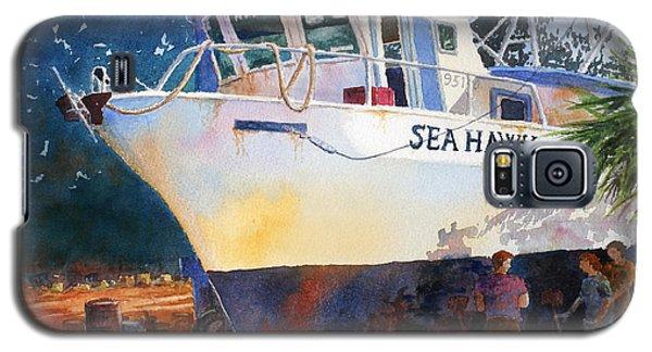 The Sea Hawk In Drydock Galaxy S5 Case by Roger Rockefeller