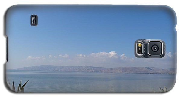 The Sea Of Galilee At Capernaum Galaxy S5 Case