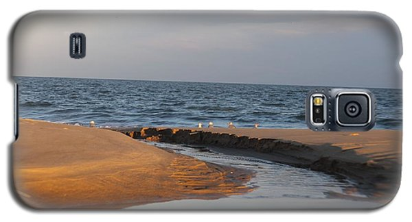 Galaxy S5 Case featuring the photograph The Sea Overcomes by Robert Banach