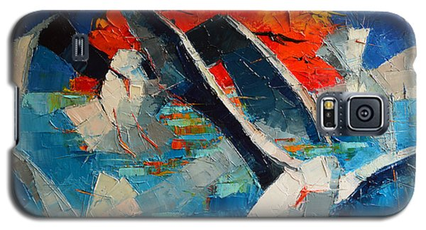 The Seagulls 2 Galaxy S5 Case by Mona Edulesco