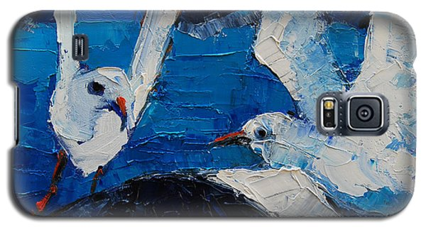 The Seagulls Galaxy S5 Case by Mona Edulesco