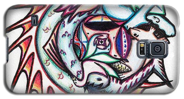 The Seahorse Mosaic Galaxy S5 Case