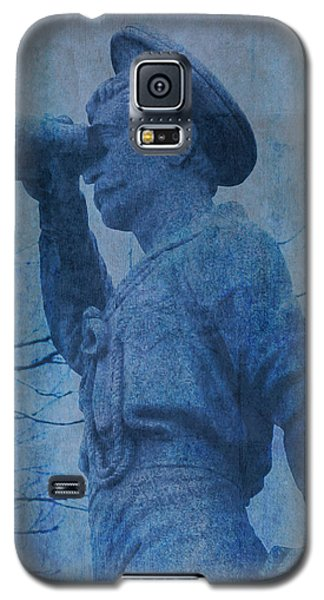 The Seaman In Blue Galaxy S5 Case
