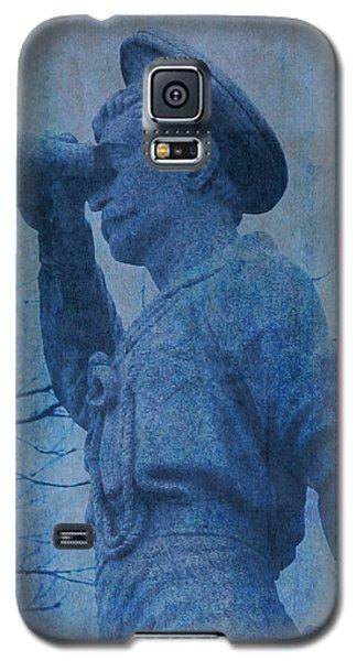 The Seaman In Blue Galaxy S5 Case by Lesa Fine
