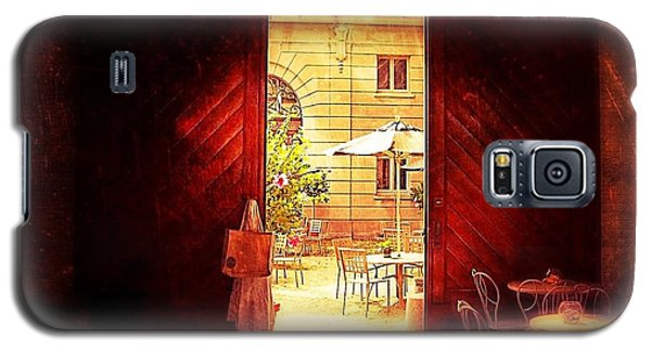Galaxy S5 Case featuring the photograph The Secret Courtyard  by Becky Lupe