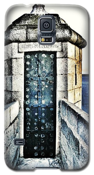 Galaxy S5 Case featuring the photograph The Secret Door by Marianna Mills