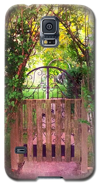 The Secret Gardens Gate Galaxy S5 Case by Becky Lupe