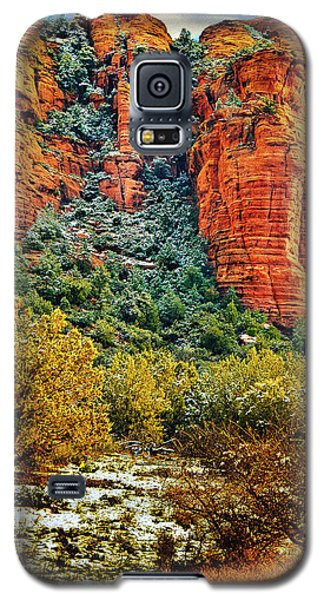 Galaxy S5 Case featuring the photograph The Secret Mountain Wilderness In Sedona Back Country by Bob and Nadine Johnston