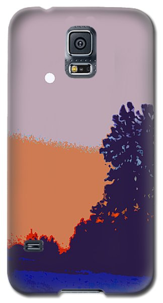 The Sentinal In Orange And Blue					 Galaxy S5 Case