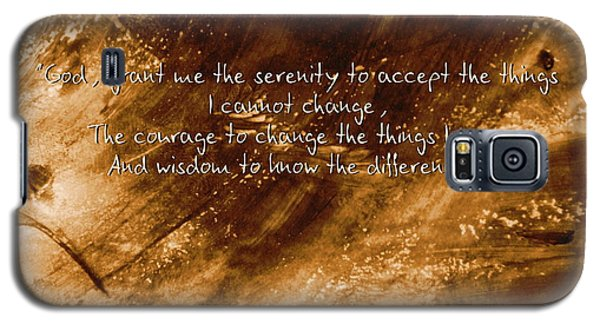 The Serenity Prayer 1 Galaxy S5 Case