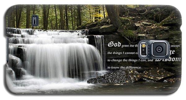 The Serenity Prayer Galaxy S5 Case