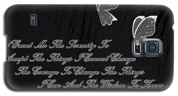 Galaxy S5 Case featuring the digital art The Serenity Prayer by Sherri  Of Palm Springs