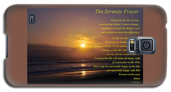 The Serenity Prayer Galaxy S5 Case by Tikvah's Hope