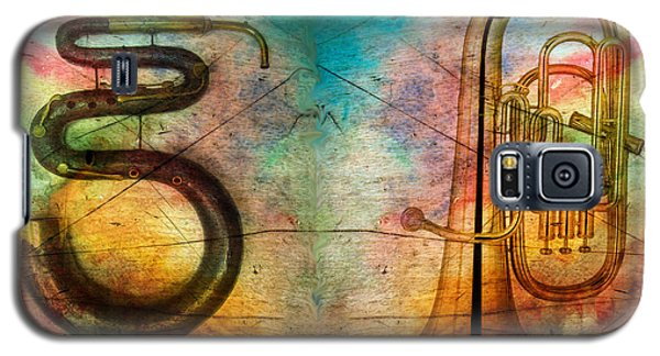 Galaxy S5 Case featuring the photograph The Serpent And Euphonium -  Featured In Spectacular Artworks by Ericamaxine Price