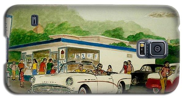 The Shake Shoppe Portsmouth Ohio 1960 Galaxy S5 Case