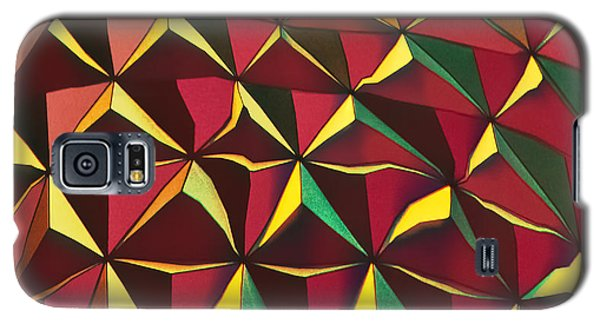 Galaxy S5 Case featuring the photograph Shapes Of Color by Kellice Swaggerty