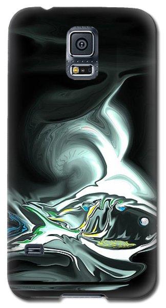 Galaxy S5 Case featuring the digital art The Shark by Steve Godleski