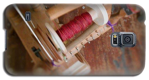 The Shawl Yarn Galaxy S5 Case by Aliceann Carlton