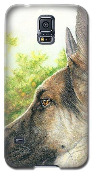 The Shepherd Watching Galaxy S5 Case