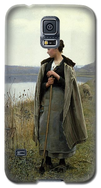 The Shepherdess Of Rolleboise Galaxy S5 Case