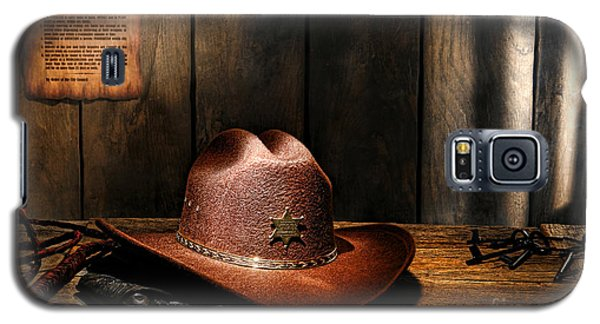 The Sheriff Office Galaxy S5 Case