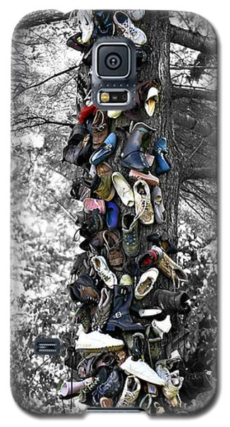 Galaxy S5 Case featuring the photograph The Shoe Tree by Lila Fisher-Wenzel