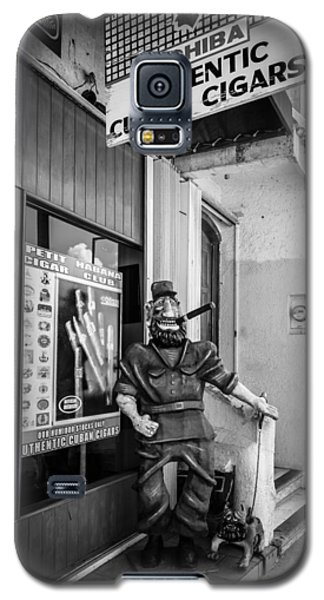 The Sidewalk Humidor  Galaxy S5 Case by Melinda Ledsome