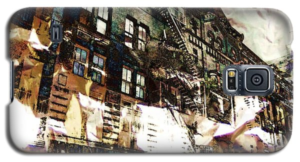 The Silver Factory / 231 East 47th Street Galaxy S5 Case by Elizabeth McTaggart