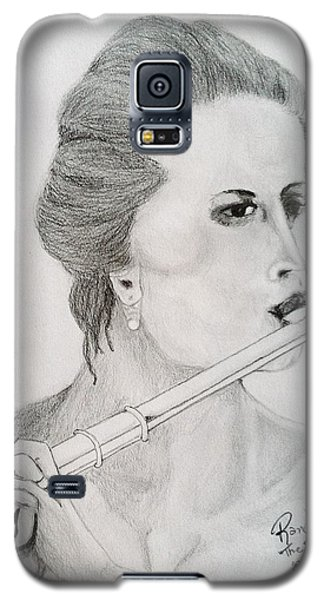 Galaxy S5 Case featuring the painting The Siren by Rand Swift