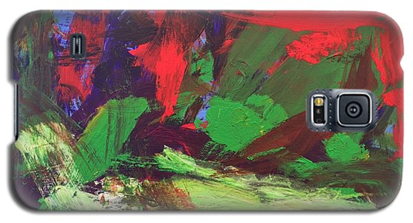 Galaxy S5 Case featuring the painting The Sky by Donald J Ryker III