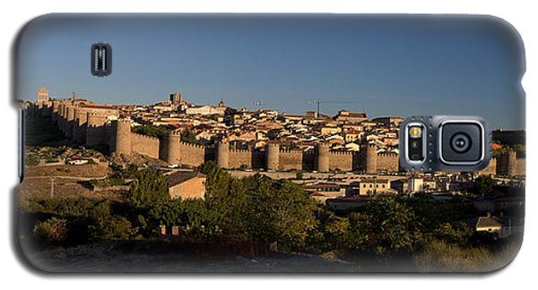 Galaxy S5 Case featuring the photograph The Skyline Of Avila Spain by Farol Tomson