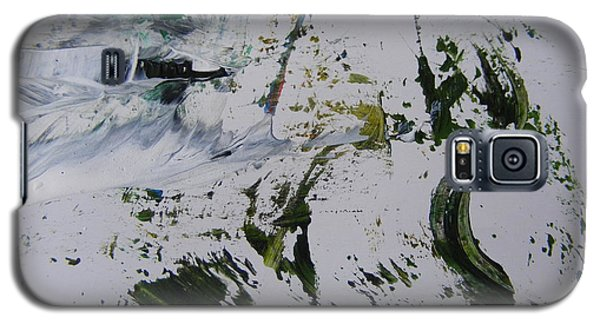 Galaxy S5 Case featuring the painting The Slope by Nancy Kane Chapman
