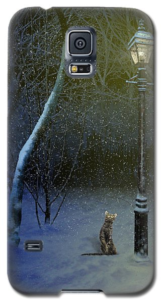 The Snow Cat Galaxy S5 Case