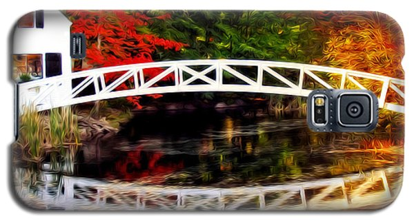 Galaxy S5 Case featuring the photograph The Somesville Bridge by Bill Howard