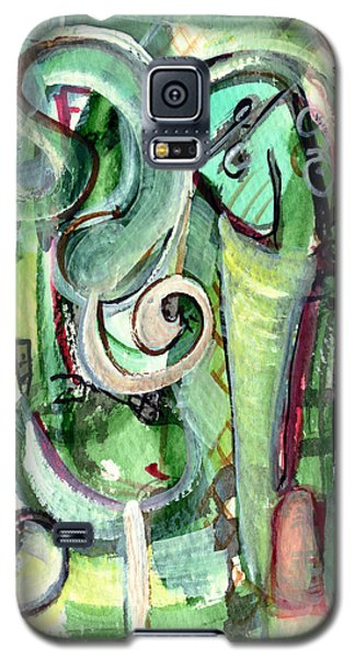 Galaxy S5 Case featuring the painting The Song by Stephen Lucas