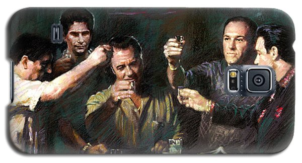 The Sopranos Galaxy S5 Case by Viola El